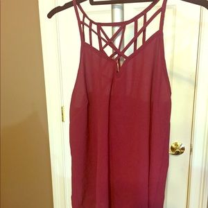 Charlotte Russe night out blouse